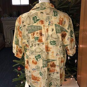 c55d6f72e NFL Shirts - New York Jets NFL Hawaiian Shirt Mens Medium